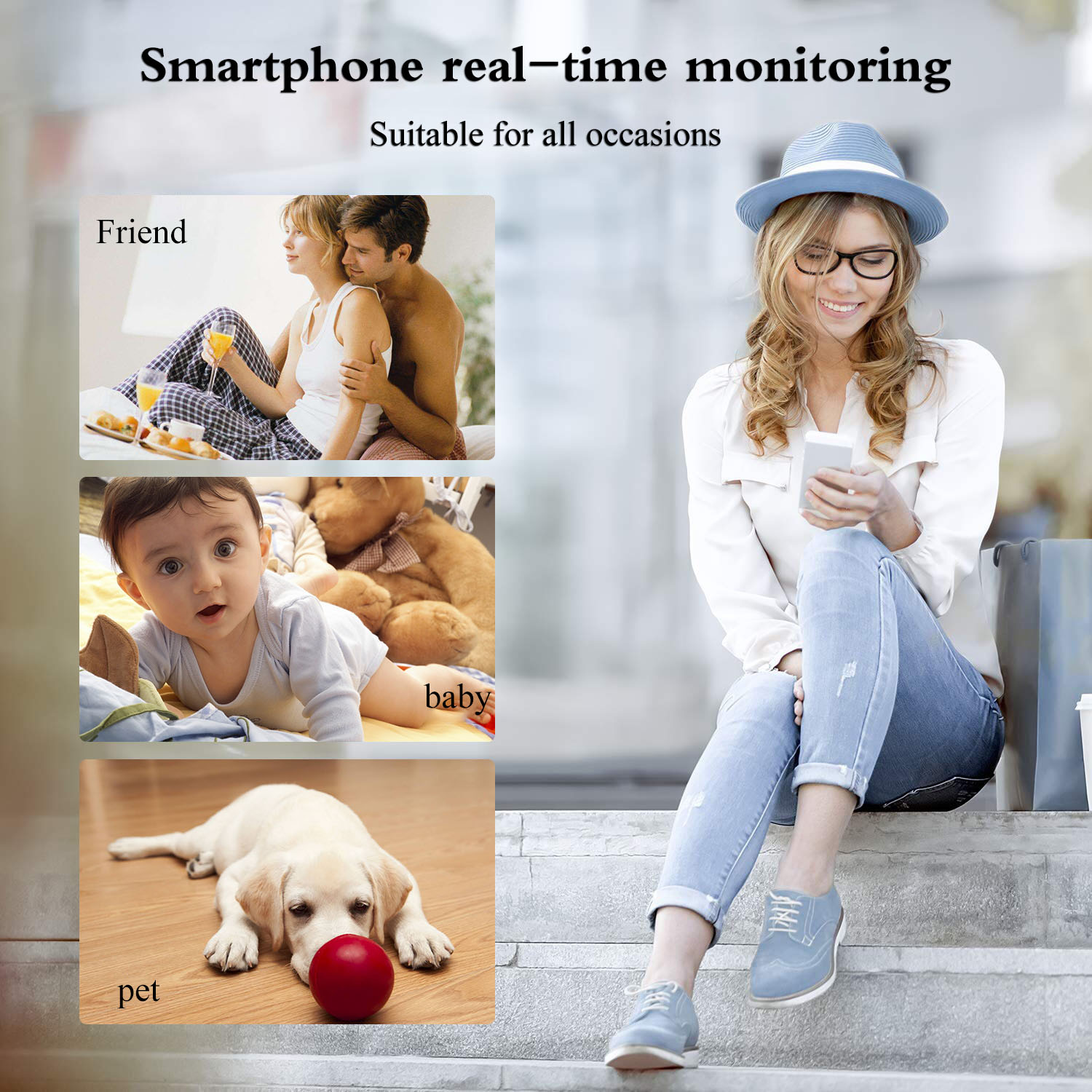 1080P Mini Wireless WIFI IP Camera HD Smart Home Security Camera Night Vision phone APP view in Surveillance Cameras from Security Protection