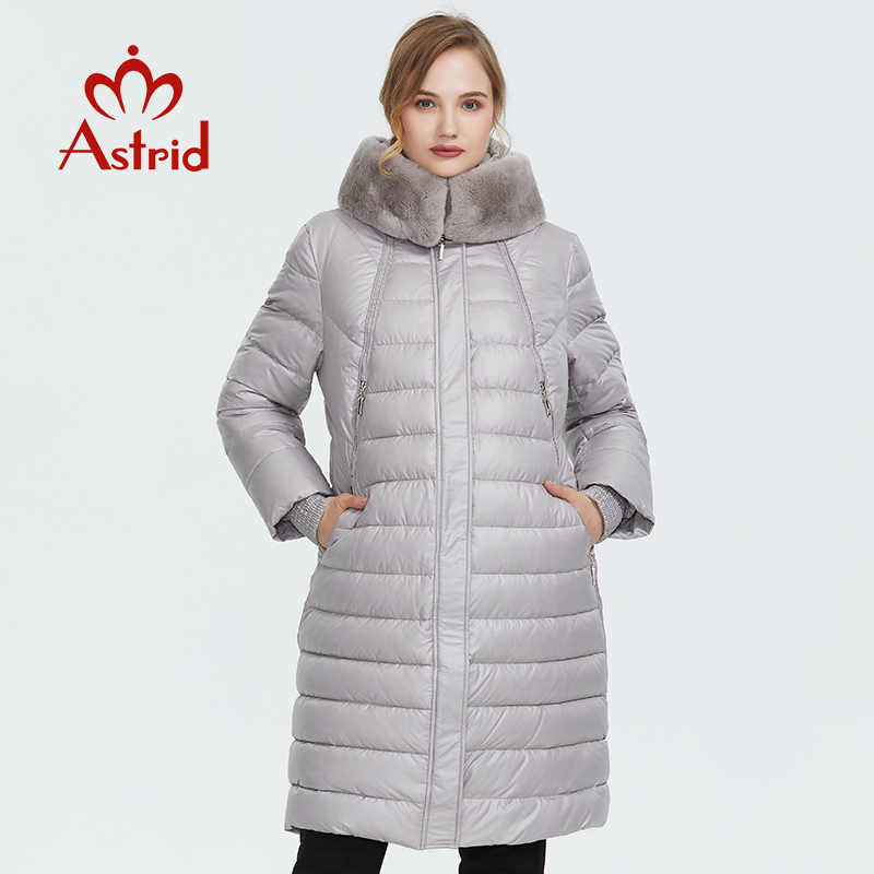 Astrid 2019 Winter new arrival down jacket women outerwear high quality thick cotton fashion style long women winter coatFR-2049