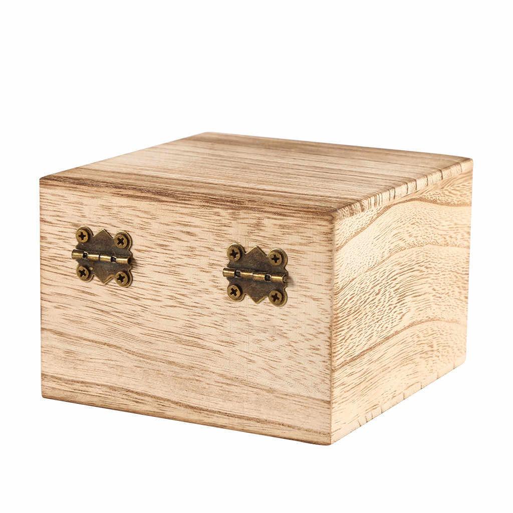 متعددة الوظائف صندوق تخزين خشبي صغير الحال بالنسبة لتغيير المجوهرات الأدوات الصغيرة G صندوق تخزين es صناديق