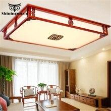 Chinese Classical Led Ceiling Lights Living Room Bedroom Ceiling Lamp Acrylic Kitchen Fixtures Flush Mount Lustre Ceiling Light цены