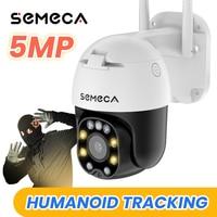 Semeca 5mp Ip Kamera Video Überwachung Kamera Mit Wifi Menschlichen Erkennung Auto Tracking WIFI Kamera Im Freien PTZ Kamera CamhiPro