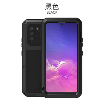 360 Full Protect For Samsung Galaxy S10 Lite Case Funda Silicone Shockproof For Samsung Note 10 Lite Cases S10Lite 2020 Cover - For Note10 Lite, Black