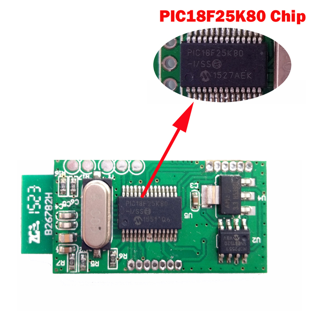 V1.5 Super MINI ELM327 Bluetooth ELM 327 Version 1.5 With PIC18F25K80 Chip OBD2 / OBDII for Android Torque Car Code Scanner 3