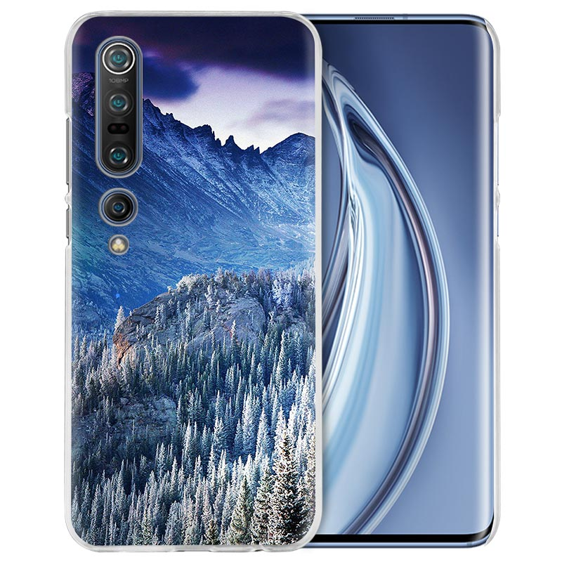 Tree Forest Mountain Case For Xiaomi Mi Note 10 Pro 9T 9 CC9 A3 A2 8 Lite 6X 10Youth 5G Poco X2 F1 F2pro Hard Coque Fall