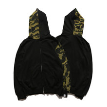 Female Hoodies Sweatshirts Camouflage Goth Harajuku HipHop Y2k Jacket Anime Zip Men Gothic Clothes