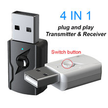 Bluetooth 50 аудио приемник передатчик мини стерео bluetooth