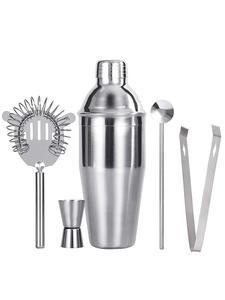 Cocktail-Set Shaker-Set Spoon Bartender-Kit Jigger-Bar Stainless-Steel UPORS with Muddler