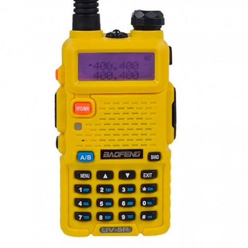 Walkie Talkie Baofeng UV-5R-Yellow