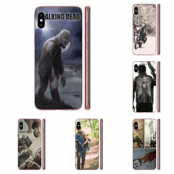 Darly Dixon The Walking Dead Zombies Cover For HTC Desire 530 626 628 630 816 820 830 One A9 M7 M8 M9 M10 E9 U11 U12 Life Plus image