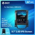 EKIY 6 + 128G DSP Android 10 автомобильное радио для Opel Astra J Vauxhall Buick Verano 2009-2015 Tesla вертикальный экран Navi GPS стерео 2din