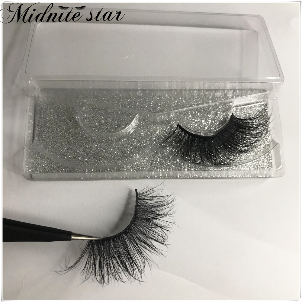 Free DHL 30 pairs/lot 5D Mink Lashes 25mm Handmade Dramatic Lashes 16 Styles 3D with Glitter Box Mink Lashes