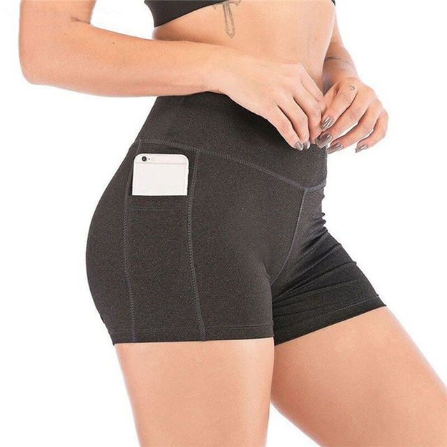 2021 New Short Women's Cycling Shorts Dancing Gym Biker Hot Active Lady Stretch Exercise Sports Running Short 2