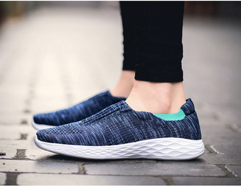 Summer Casual Shoes Breathable Women Men Sneakers Slip On Loafers Cheap  Flats Ladies Shoes S1476-1500