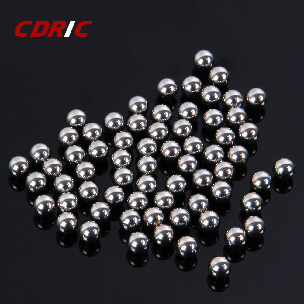100pcs 6mm 7mm 8mm 9mm Steel Balls Pocket Shot Outdoor Hunting Slingshot Pinball Stainless Ammo Steel Balls Shooting Accessories