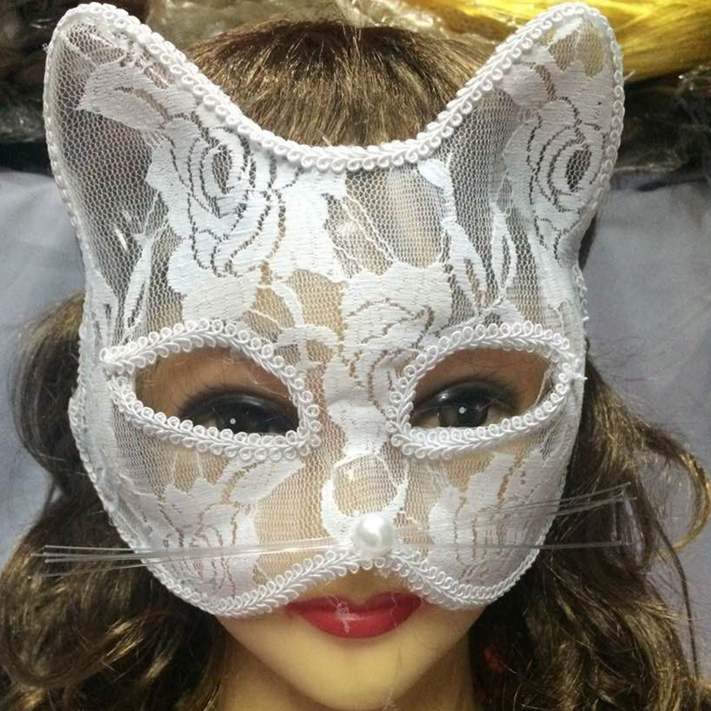 Catwoman Mask Cosplay Sexy Costume Props Latex Adult SM Mask Adult Play Cat Costume Masquerade Sex Toys For Couples Sex Shop