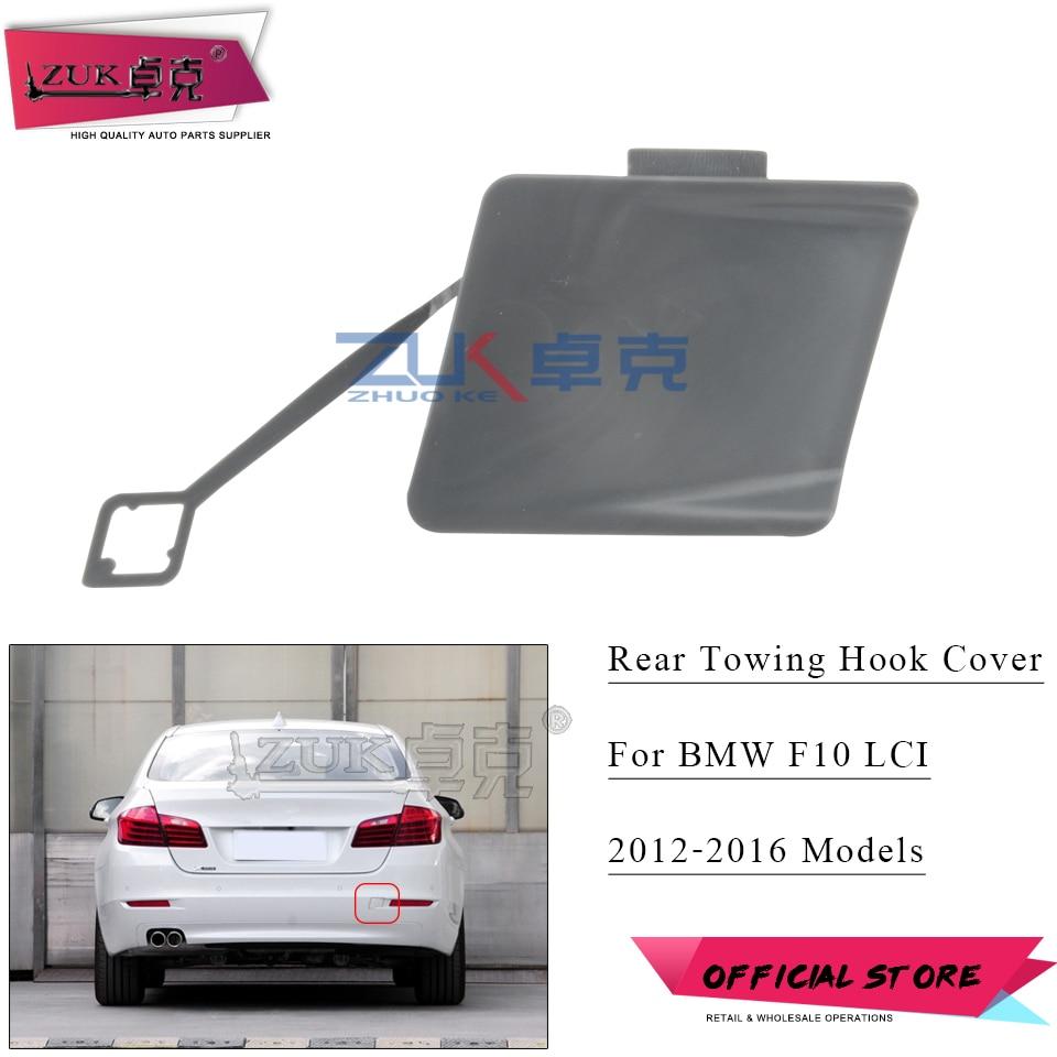 Pair REAR Bumper Tow Hook Cover Cap TOW BRACKET for BMW X1 Series E84 2013-2014