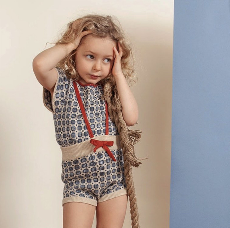 Girls Cardigan Sweater Shorts 2021 Autumn Brand Boys Cotton Knitted Sweaters Baby Girl Bust Skirt Coat Wave T-shirt Kids Clothes 2