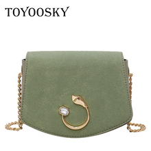 TOYOOSKY Luxury Handbags Women Bags Designer Shoulder Vintage Velvet Chain Evening Clutch Bag Messenger Crossbody For