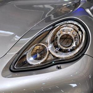 Image 5 - Car Headlight Lens For Porsche Panamera 2010 2011 2012 2013 Headlamp Lens Car  Replacement  Auto Shell Cover