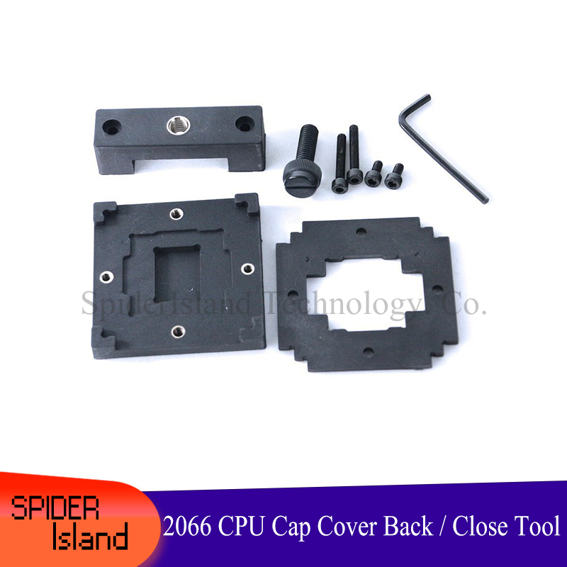 CPU Top Cover Back Cooling Heat Sink Fixture Seal Close Tool For Intel 2066 Interface Series CPU Head Cover Recover Close Tool
