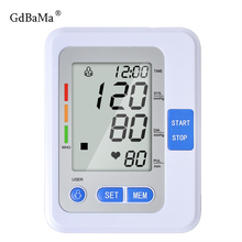 New Portable Digital Blood Pressure Meter Blood Pressure Monitor Upper Arm Tonometer Sphygmomanometer Tensiometro With Voice цена в Москве и Питере