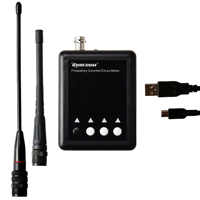 Surecom-Medidor de frecuencia SF-401 Plus, contador de frecuencia portátil de 27Mhz-3000Mhz, CTCSS/decodificador DCS