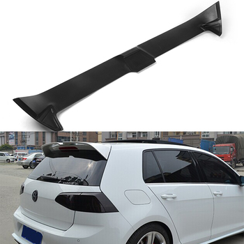 For Volkswagen VW Golf 7 unpainted Fiberglass rear roof trunk spoiler wing 2014~2016 (not for GTI and R)