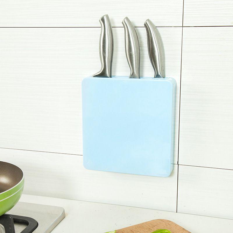 Kitchen Slim Design Cutter Block Plastic Cutter Holder Multifunctional Scissor Cutlery Tool Shelf  Cutlery Tool Holder