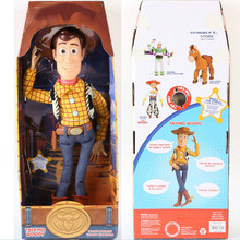 43cm Toy Story 3 Talking Woody Action Toy Figures Model Toys Children Christmas Gift Free Shipping free shipping model rocket vehicle toy is a play for children ball point performance props garage kit toys child s gift