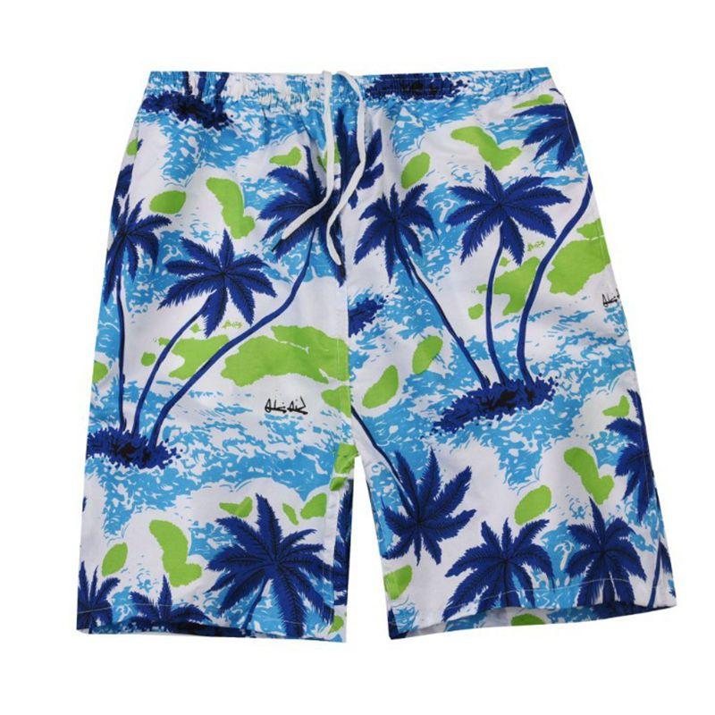 New Summer Casual Shorts Men Printed Beach Shorts Quick Dry Board Shorts Pants 1