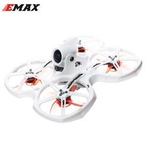 Дрон EMAX Tinyhawk II 75 мм 1-2S Whoop FPV Racing, RTF FrSky D8 Runcam 2 Cam 25/100/200mw VTX 5A Blheli_S ESC RC игрушки