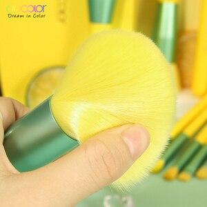 Image 3 - Docolor 13PCS Spazzole di Trucco Fondotinta In Polvere Dellombra di Occhio Blending Blush Pennello Cosmetico di Bellezza Neon Make Up Brush Maquiagem