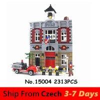 Lepin Blocks 15004 84004 City Street Creator Town Castle Compatible 10224 King Building Blocks Model Toys Bricks Architecture