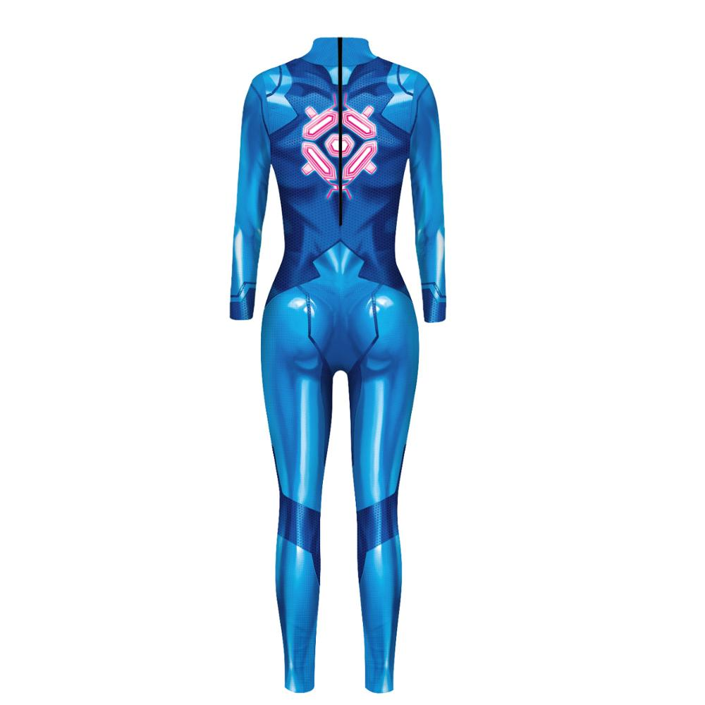 PLstar Cosmos Women girl 3D japan animeMetroidCosplay Costume Bodysuit Jumpsuits Halloween Christmas Fullbody Suit 2 in Jumpsuits from Women 39 s Clothing