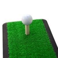 Hot Backyard Golf Mat Golf Training Aids Outdoor Indoor Hitting Pad Practice Grass Mat Game Golf Training Rubber Grassroots Mat