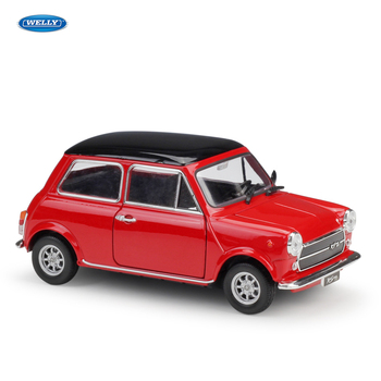 WELLY 1:24 MINI COOPER 1300 red Car sports car simulation alloy car model crafts decoration collection toy tools gift штопор stellar cooper tools se05