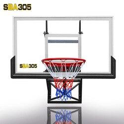 Tabla de baloncesto colgante altura de la pared ajustable aro de baloncesto al aire libre transparente colgante de pared interior