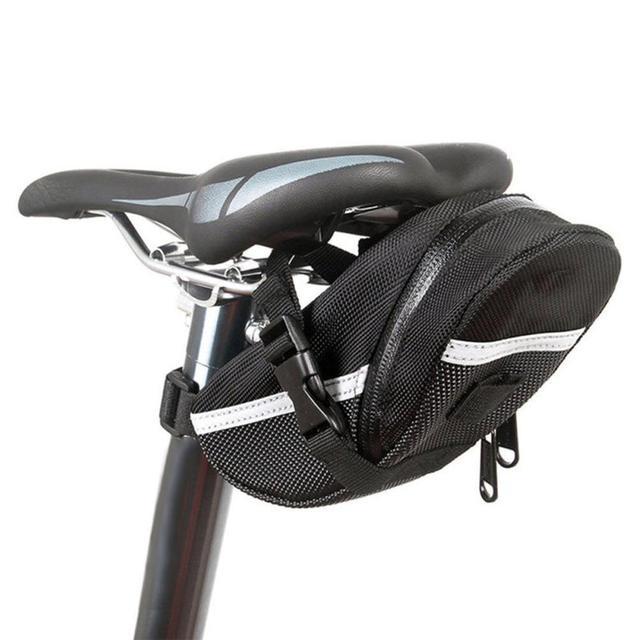 Ao ar livre à prova dwaterproof água saco de cauda bicicleta ciclismo volta assento oxford pano sela saco para biketail mochila preto quente dropshipping 1