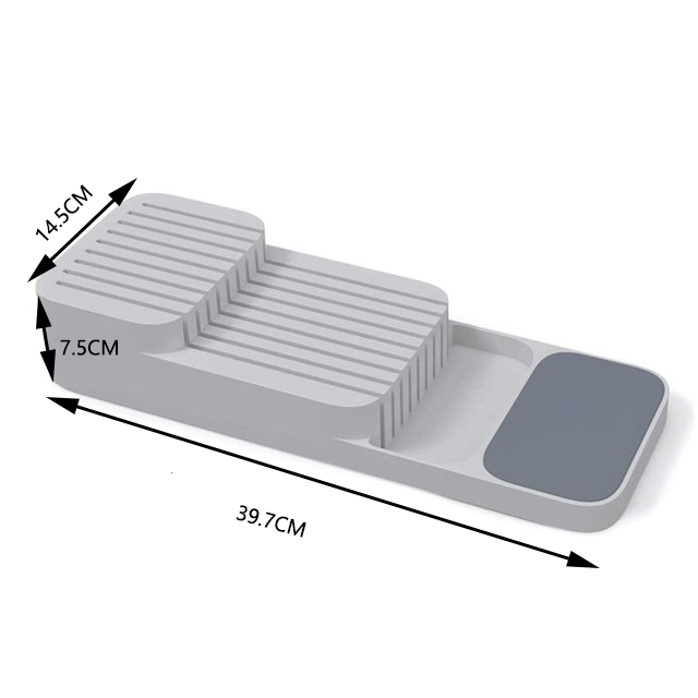 A tray for storing cutlery 5