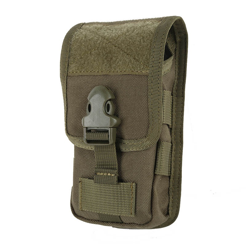 Hot Sale Case Cover Mobile Phone Coque Military Tactical Camo Belt Pouch Bag Attachment Backpack