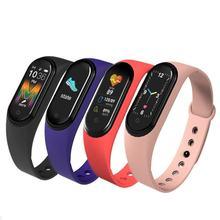 M5 bande intelligente 4 Fitness Tracker montre Sport bracelet fréquence cardiaque pression artérielle Smartband moniteur bracelets de santé
