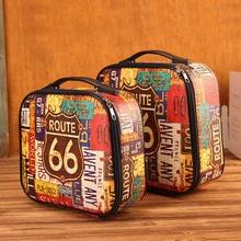 Travel Pouch Portable Environmental Storage Bag Organizer photography props Luggage Retro Carry Pouch Storage Box case стоимость