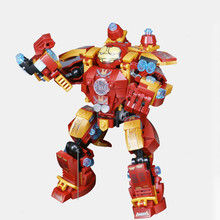 Super Heroes Movies Iron Man  Set Building Blocks toys For Children Gifts Compatible Marvel Series Children's gift 737pcs ninja marvel super heroes temple of airjitzu building blocks toys gift compatible with lego toys for children dbp397
