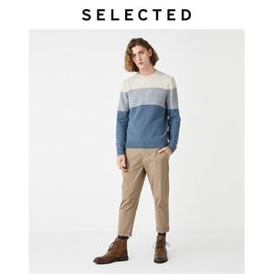 Image 3 - נבחר חדש גברים של צמר תפרים סוודרי החורף חדש עגול צוואר סוודר S