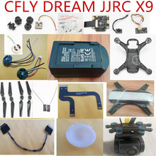 CFLY C-FLY DROOM JJRC X9 RC Quadcopter onderdelen shell blades motor ESC kompas Demping bal lampenkap PTZ camera oplader etc(China)