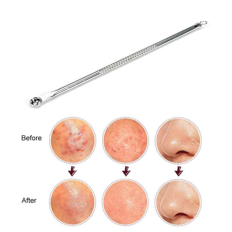 Zaskórnika ekstrakcje skazy igły leczenie trądziku igły do zwalczania trądziku ze stali nierdzewnej trądzik ekstraktor Remover pielęgnacja twarzy narzędzia TSLM1
