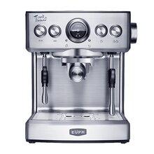 цена на Commercial Coffee Machine 19Bar Italian Espresso Semi-automatic Household Steam Milk Foam Bubble 2.1L Coffee Maker TSK-1837B
