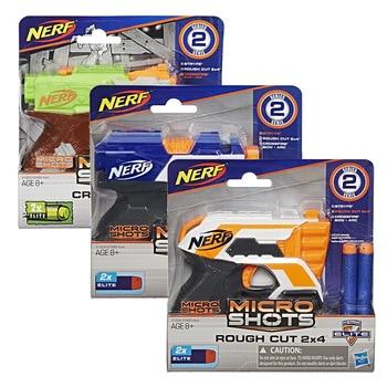 New Original Nerf Gun ELITE MICRO SHOTS Stryfe Crossfire Launcher Soft Bullet Gun Kids Outdoor Toy Gift worker f10555 no 152 stf type b set professional toy gun accessories for nerf stryfe black