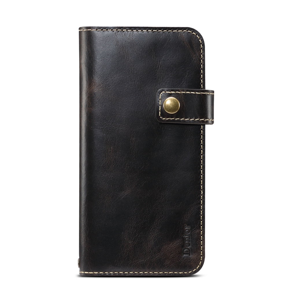 Premium Leather Magnet Button Flip Strap Case for iPhone 11/11 Pro/11 Pro Max 52