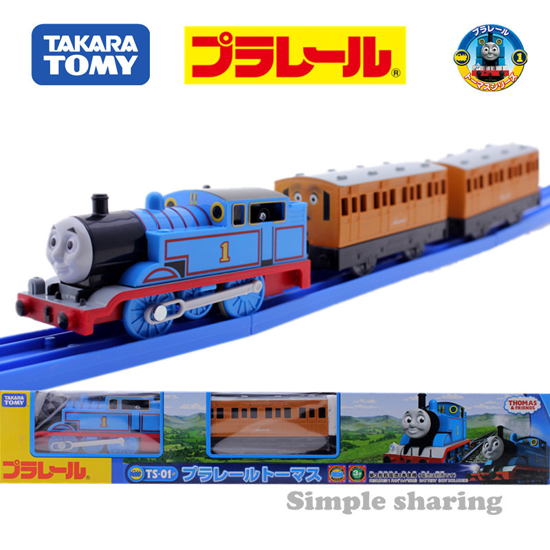 Takara Tomy Pla Rail Plarail Train & Friends TS-01 Thomas Japan Railway Train Motorized Electric Locomotive Model Toy